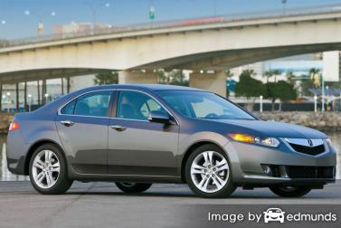 Insurance rates Acura TSX in Las Vegas