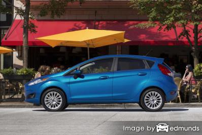 Insurance quote for Ford Fiesta in Las Vegas