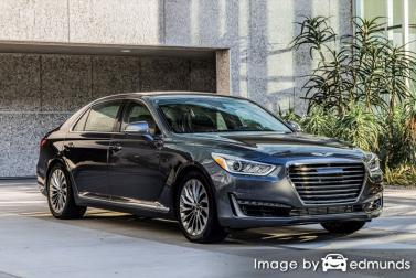 Insurance quote for Hyundai G90 in Las Vegas