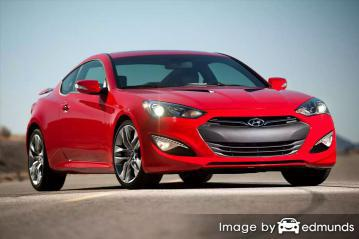 Insurance quote for Hyundai Genesis in Las Vegas