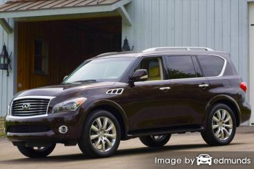 Insurance quote for Infiniti QX56 in Las Vegas