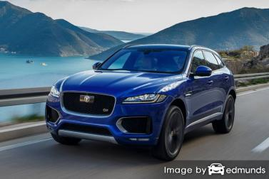 Insurance rates Jaguar F-PACE in Las Vegas