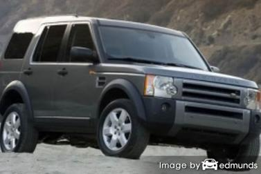 Insurance rates Land Rover LR3 in Las Vegas
