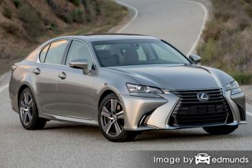 Insurance quote for Lexus GS 200t in Las Vegas