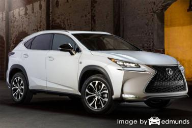 Insurance quote for Lexus NX 200t in Las Vegas