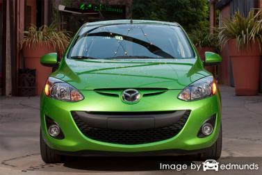 Insurance rates Mazda 2 in Las Vegas