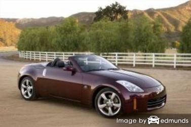 Insurance quote for Nissan 350Z in Las Vegas