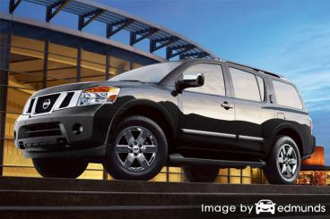 Insurance quote for Nissan Armada in Las Vegas