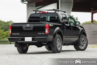 Insurance quote for Nissan Frontier in Las Vegas