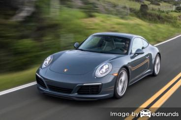 Insurance quote for Porsche 911 in Las Vegas