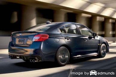 Insurance rates Subaru WRX in Las Vegas