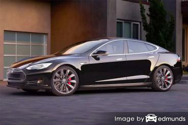 Insurance rates Tesla Model S in Las Vegas
