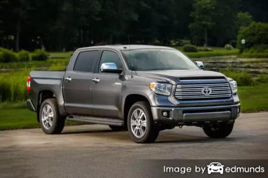 Insurance quote for Toyota Tundra in Las Vegas