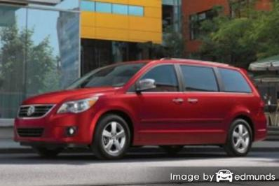 Insurance quote for Volkswagen Routan in Las Vegas